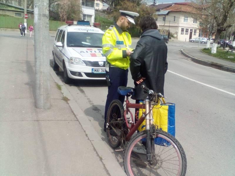 Poliţia rutieră, în acţiune vizând bicicliştii