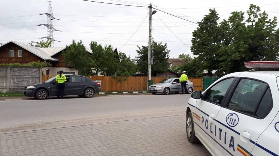 Poliţia Rutieră Prahova, acţiune cu efective mărite