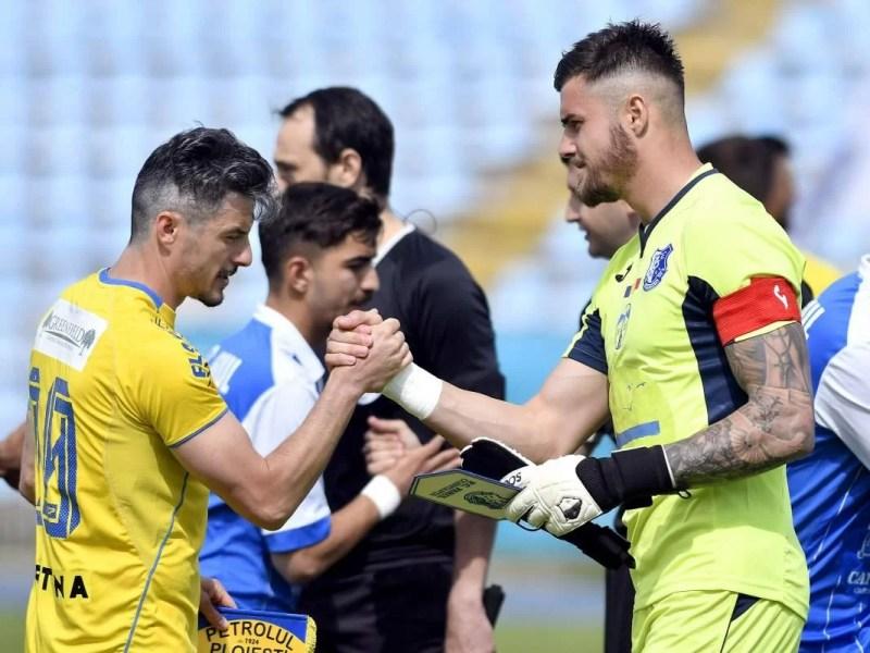 """Așa, da! Petrolul câștigă la scor de forfait pe arena """"Gheorghe Hagi""""! Două goluri, semnate de fotbaliști """"U 21"""""""