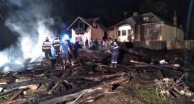 Incendiu violent în comuna Talea