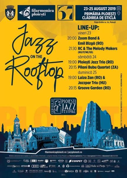 Festival de jazz pe acoperişul Primăriei Ploieşti (23-25 august)