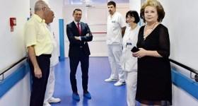 Secţia Neurochirurgie a Spitalului Judeţean, complet modernizată. Urmează UPU şi ambulatoriul