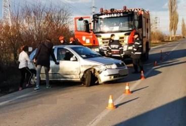 Şoferiţă de 21 ani a provocat accident cu victimă la Brazi