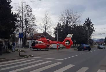 Taximetrist din Breaza şi-a băgat clientul în spital cu SMURD-ul