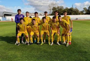 """După ce a bifat """"dubla"""" României """"U 18"""" cu Spania, de petrolistul Ianis Stoica s-au interesat scouterii lui FC Porto! Din patru goluri înscrise în două meciuri, de către tricolori, juniorul ploieștean a bifat trei!"""