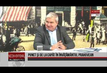 Punct şi de la capăt în învăţământul prahovean, invitat Constantin Pisău, inspector general ISJ Prahova