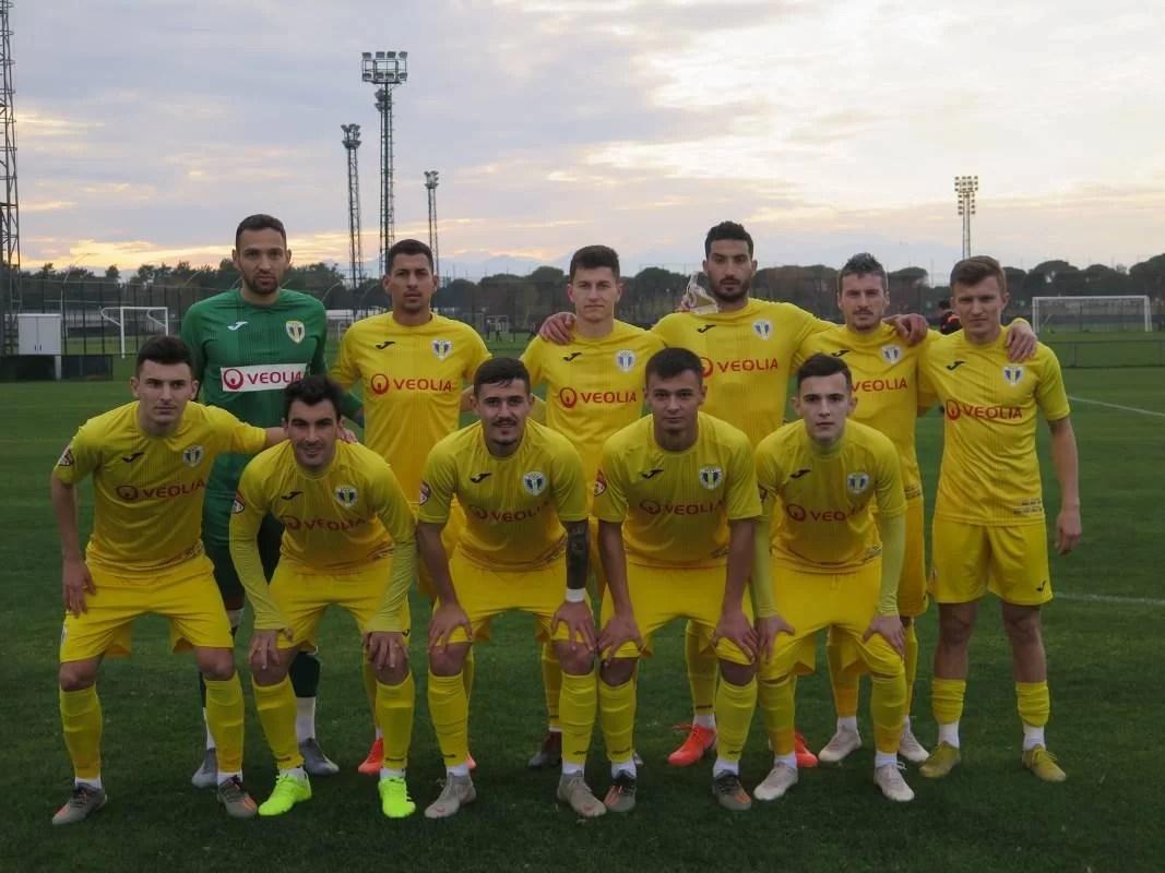 """Primul meci amical de la Belek al """"lupilor"""", joc bun și rezultat pe măsură. Marinescu și Deac au adus victoria în dauna FK Qyzyljar, echipa lui Matulevicius"""
