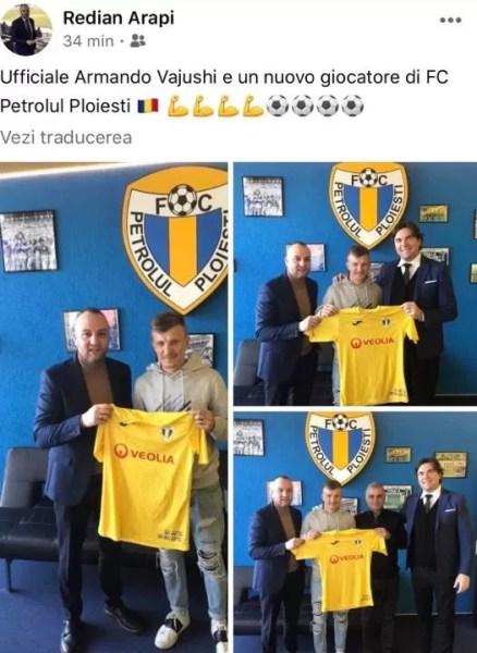 """O nouă """"punte"""", acum, între FC Petrolul Ploiești și FC Botoșani. De data asta, prin… filiera albaneză! Fotbaliști care au semnat și la clubul muntean, și la cel moldovean, în pauza competițională de iarnă"""