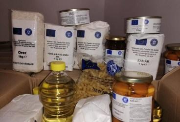 Începe distribuirea ajutoarelor alimentare UE la Ploiești