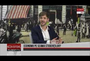 Economii pe seama studenților? Invitați Antonia Pătrașcu și Vasile Ailene – reprezentanți ai studenților UPG