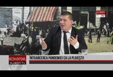 Întoarcerea pandemiei ca la Ploiești. Invitați jurnaliștii Victor Preda și Vlad Petre
