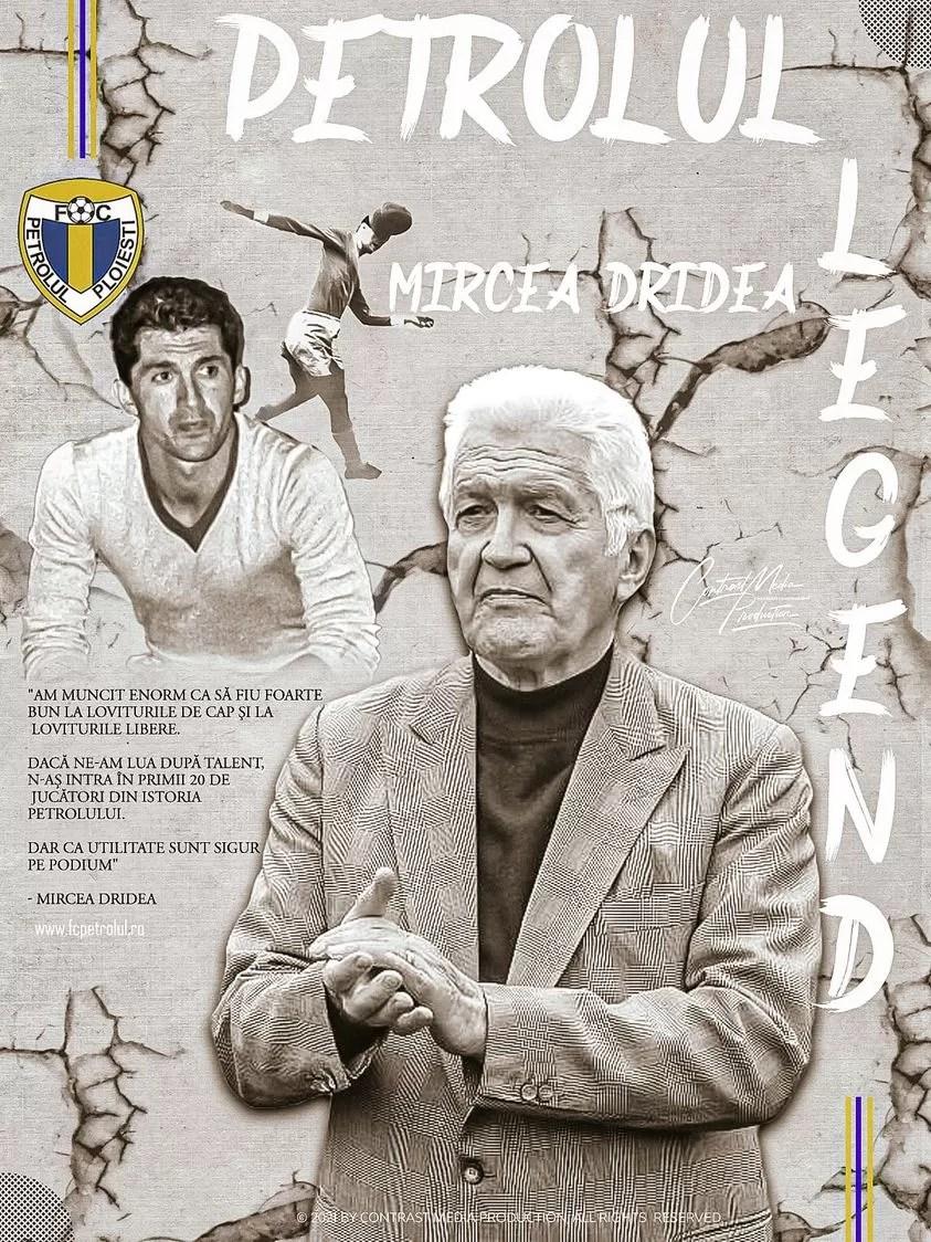 De ziua domniei sale, Seniorul Mircea Dridea a mărturisit, într-un interviu, de ce crede că Petrolul a ratat până acum promovarea în Liga 1: numărul prea mare de jucători și de antrenori rulați în ultimele trei sezoane ale Ligii a II-a!