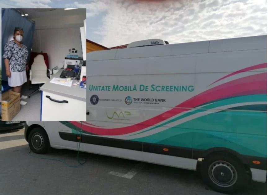 Screening gratuit pentru femeile din comuna Filipeștii de Pădure