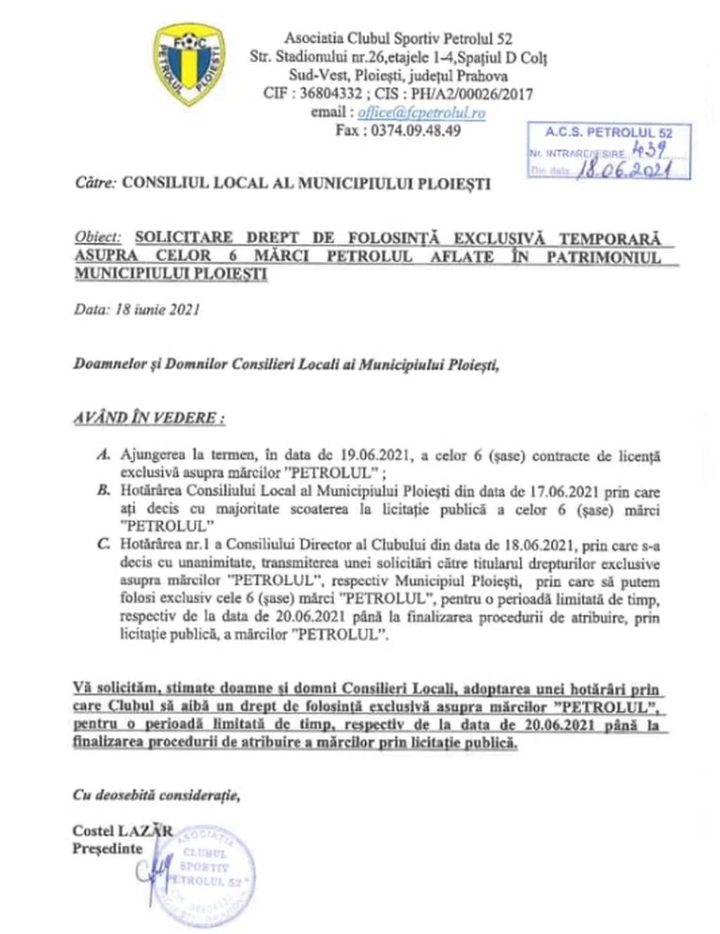 """O scrisoare a ACS Petrolul '52, rămasă fără răspuns după mai bine de o săptămână din partea Consiliului Local Ploiești, a condus la clipe jenante la o competiție națională, adjudecată de micuții """"lupi"""", în dauna omologilor campioanei de seniori! Cine își asumă această maximă rușine a întârzierii?"""
