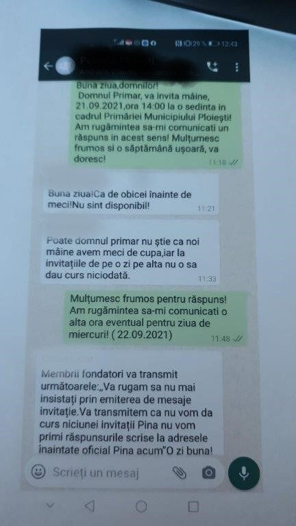 Dialogul Primărie – ACS Petrolul a intrat în blocaj. Primarul spune că e ciudat
