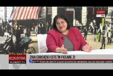 """Ziua educației este în fiecare zi. Invitată prof. Carmen Băjenaru, directorul Colegiului Național """"I.L. Caragiale"""""""