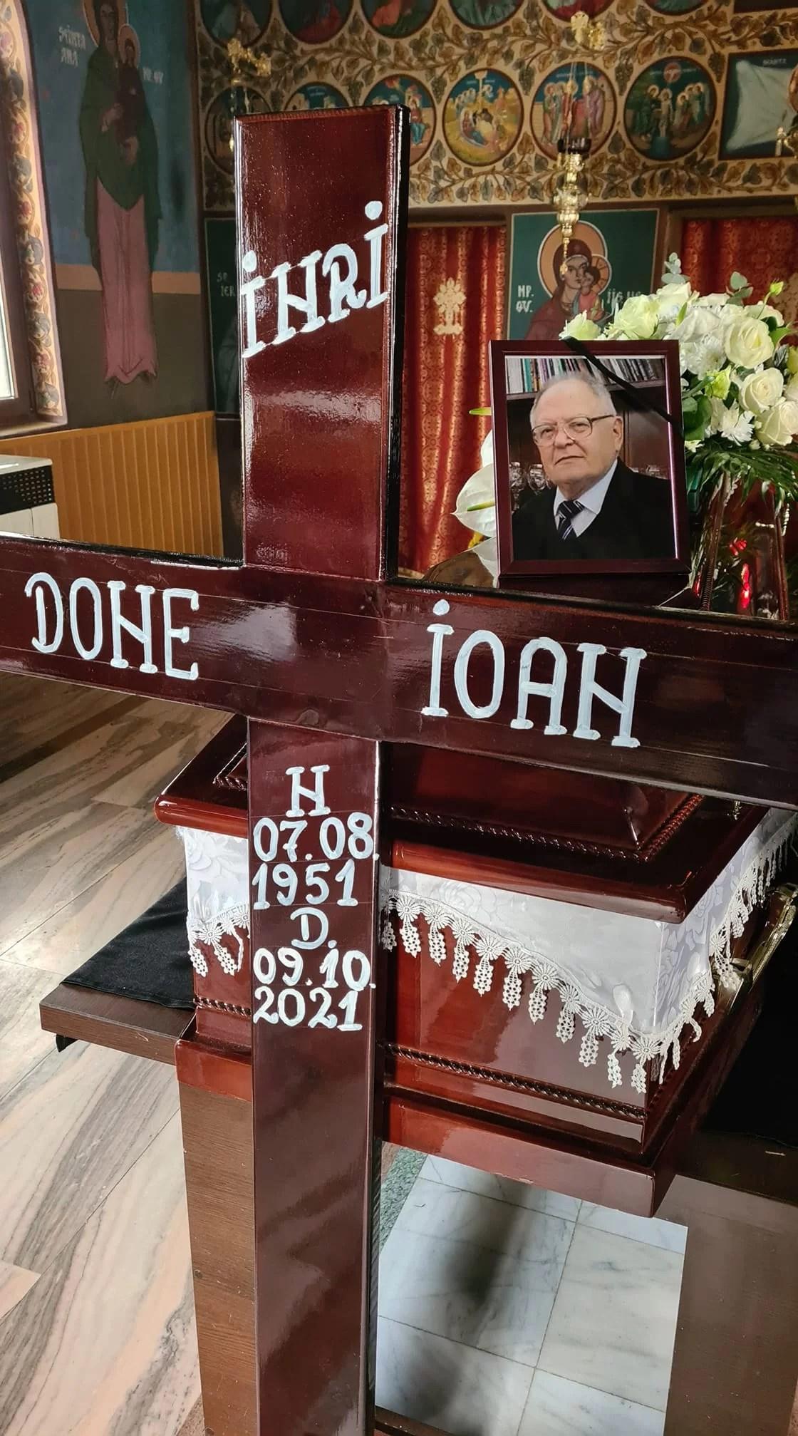 UPG în doliu! A murit prof. univ. dr. Ioan Done
