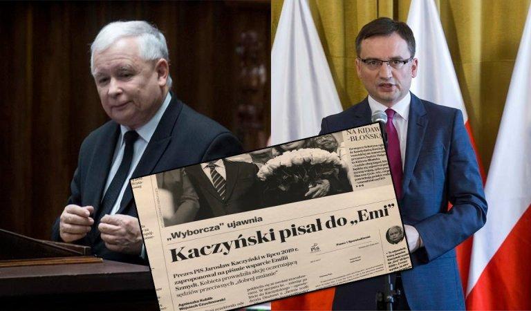 """Kaczyński wspierał """"Małą Emi"""" i jej dzieci. Emilka informowała, że """"w ministerstwie dzieją się złe rzeczy"""""""
