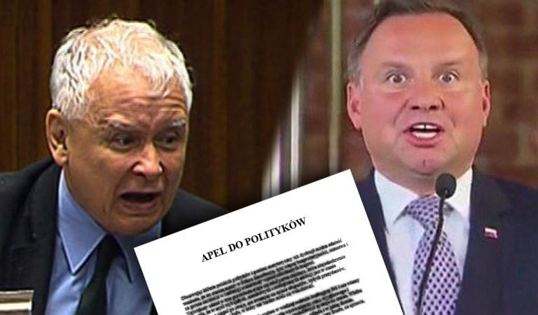 """Apel do polityków. Niech każdy to przeczyta! """"Wspólnie odsuńmy PiS od władzy!"""""""