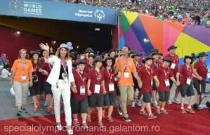 Nadia Comăneci strânge fonduri pentru participarea sportivilor cu dizabilităţi intelectuale la Jocurile Mondiale Special Olympics