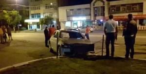 Polițist implicat într-un accident