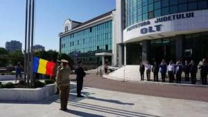 Autoritățile județene vor sărbători Ziua Drapelului