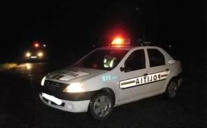 Prins la volan fără permis și băut! Polițiștii au făcut uz de armă