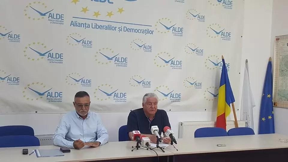Mihai Nita si Ioan Ciugulea ALDE Olt