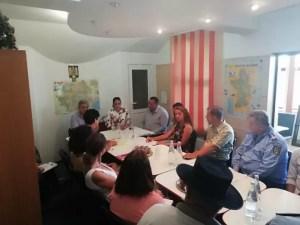 Prefectul Angela Nicolae, interesată de problemele romilor din Corbu