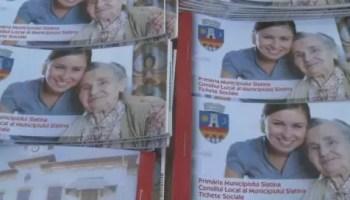 ticheteeee Slatina: Tichetele sociale, pe ultima sută de metri