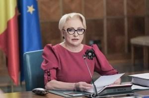 """Dăncilă: """"Sunt convinsă că domnul Iohannis urmărește cu îngrijorare criza în care a aruncat România"""""""