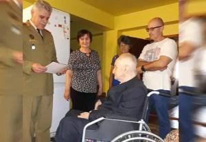 Mircea Albotă, veteranul de onoare al Slatinei