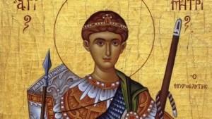 Sfântul Dumitru, tradiții și obiceiuri