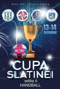 """Cupa Slatinei"" la handbal"