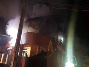 Vila cântăreței Emilia Dorobanțu a luat foc