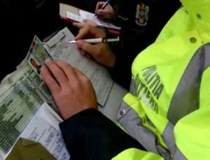 Sute de șoferi amendați în doar 7 zile