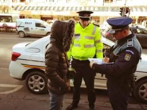 Polițiștii în război cu cerșetorii