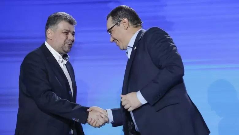 Ciolacu i Ponta alianta partide