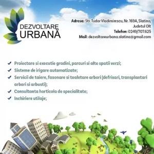 Dezvoltare Urbană Slatina își mărește echipa