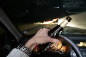 Prinși beți la volan