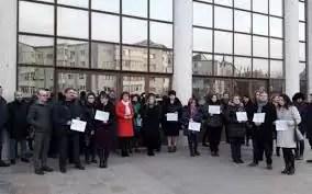Protestele magistraților continuă