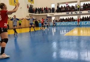 "Handbal Feminin: Liga Florilor, etapa a XVIII-a CSM Slatina – ""U"" Cluj 31:27 (17:12)"
