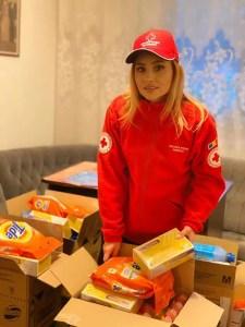 """Emilia Dorobanţu, în campania """"România salvează România"""" demarată de Crucea Roșie"""