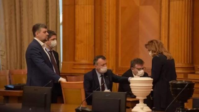 Guvern-investitura-PSD Guvernul Orban a primit votul de învestitură