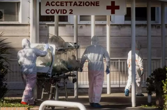 ITALIA-bilant-tragic BILANȚ DRAMATIC! ITALIA A ÎNREGISTRAT ASTĂZI 793 DE DECESE