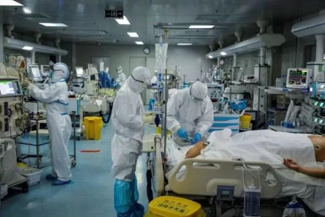Treatment-Coronavirus Personalul medical, neprotejat, fără echipament și dezinfectanți