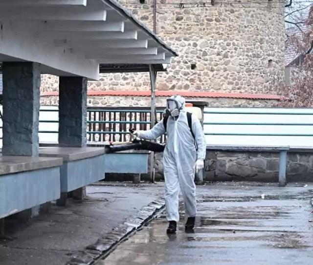 dezinfectie-caracal În Caracal începe campania de dezinfecție