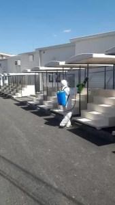 Săptămânal piața din Caracal este igienizată
