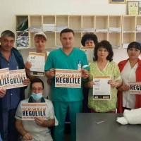 Medicii din SJU Slatina refuză 'MITA' lui Iohannis