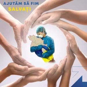 """""""AJUTĂM SĂ FIM SALVAȚI"""", o campanie marca PNL Olt"""